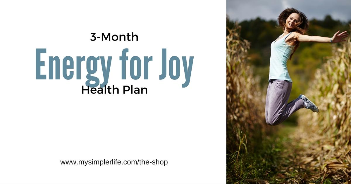 3-Month Energy for Joy Health Plan