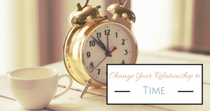 Change Your Relationship to Time Course