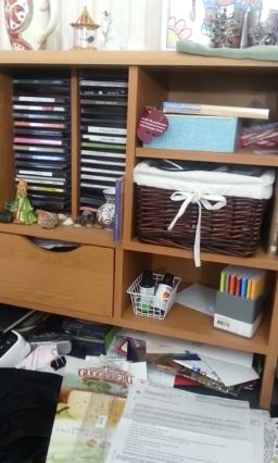 Cleaning a Messy Desk