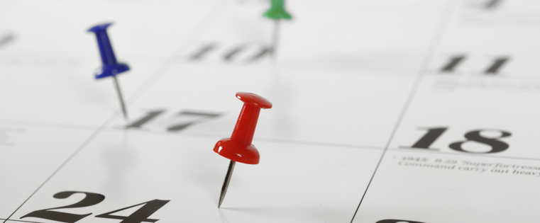 Using a Calendar