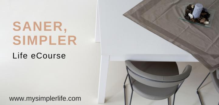 Saner, Simpler Life eCourse