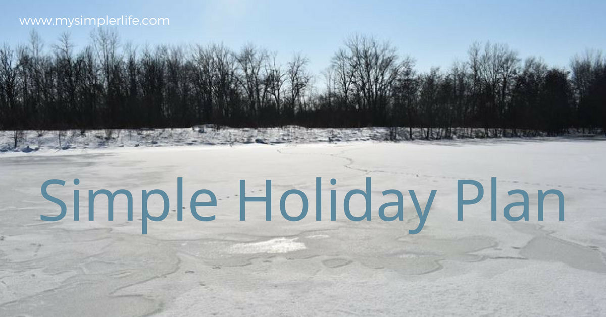 Simple Holiday Plan