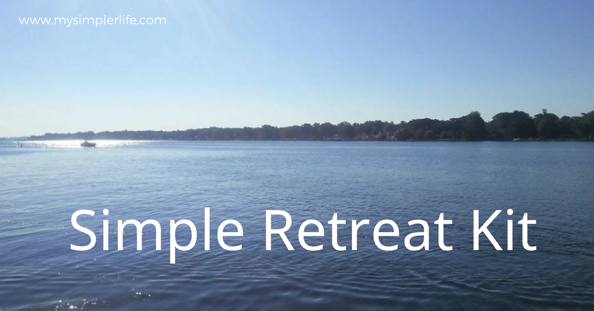 Simple Retreat Kit