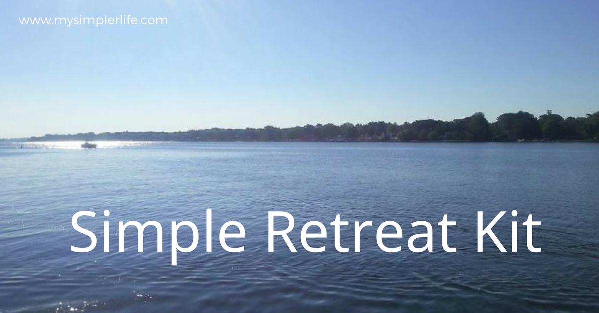 Simple Retreat Kit