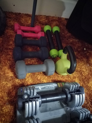 weights for exercise room