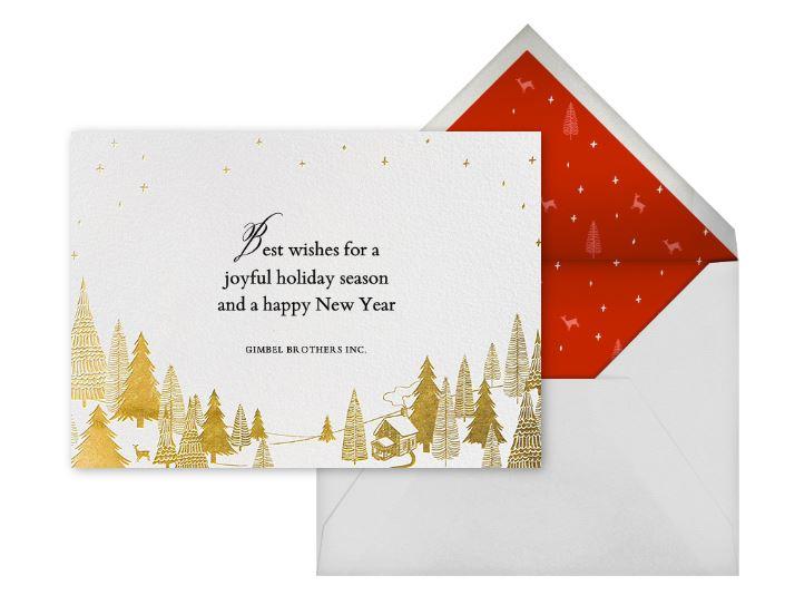 Easy card sending