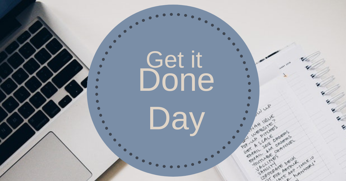 Get it Done Day