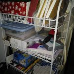 Decluttering the Rolling Cart