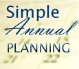 Simple Annual Planning