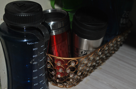 Water Bottle Basket